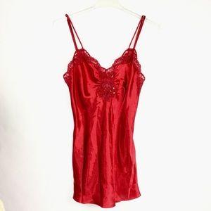 Victoria's Secret Vintage Gold Tag Night Gown Slip